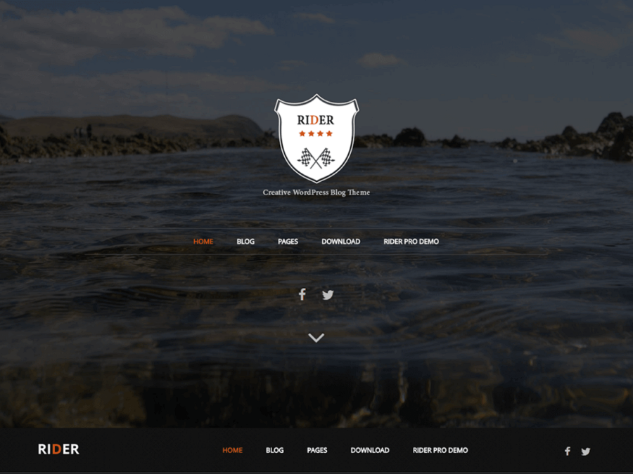 RIder WordPress Theme