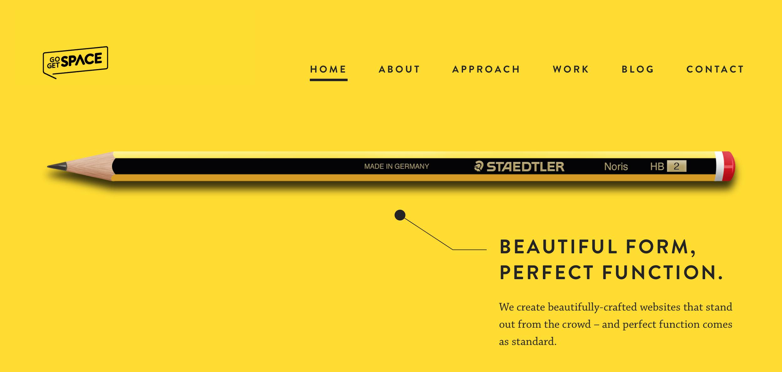 Minimalism for web design