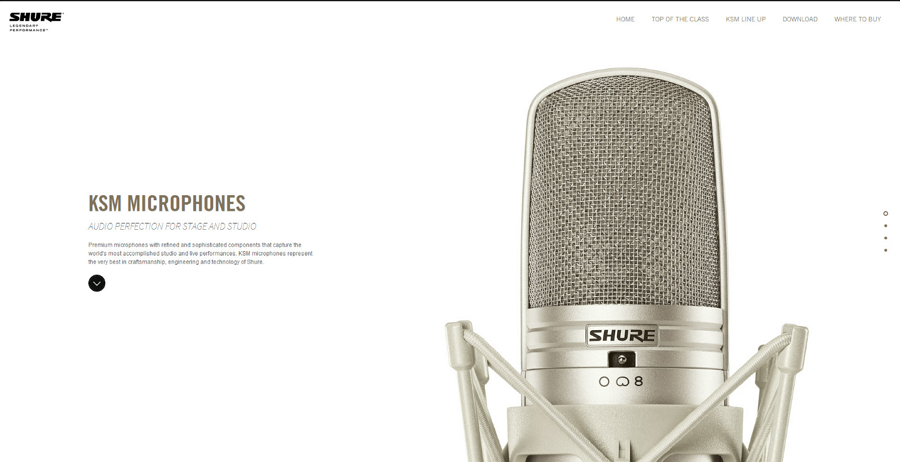 design minimal website