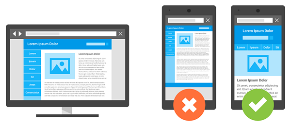 responsive websites to lower bounce rates