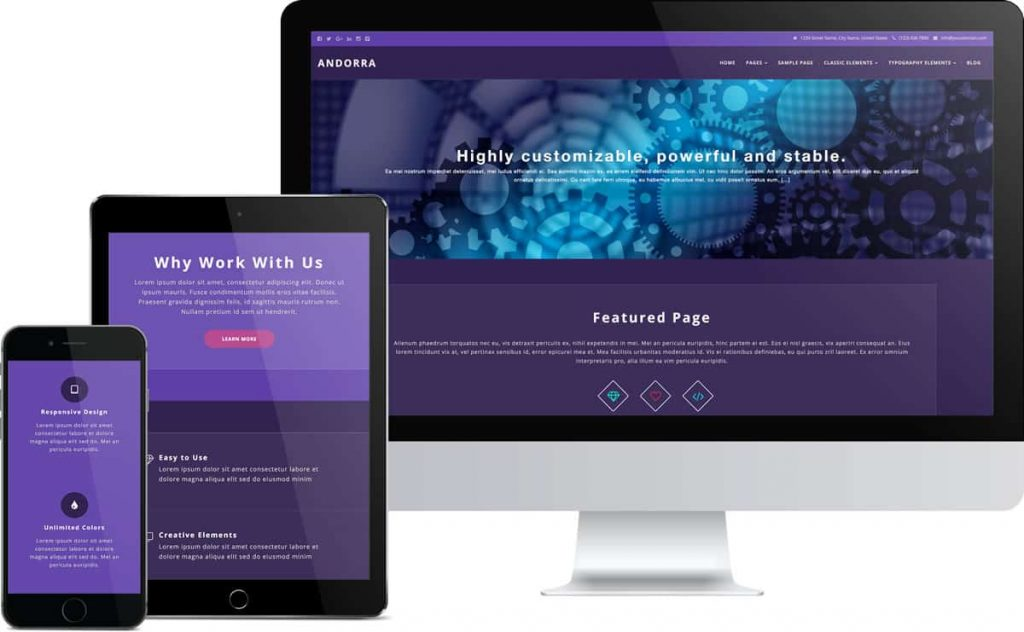 Right Responsive Theme