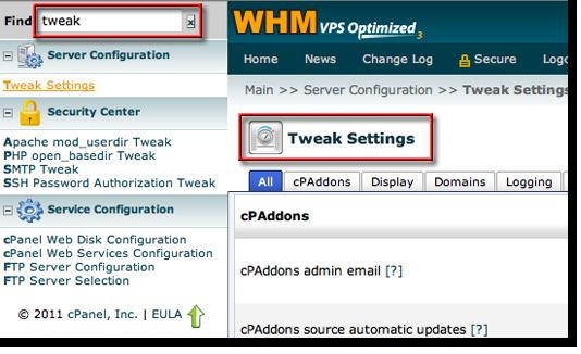 PHPMyAdmin Tweak Settings
