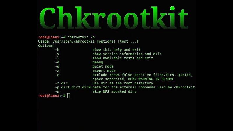 chkrootkit for VPS Hosting