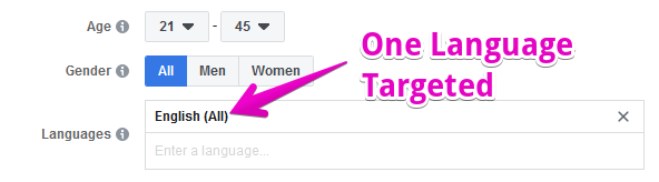 one target