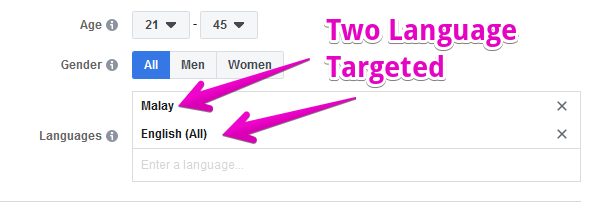 two target