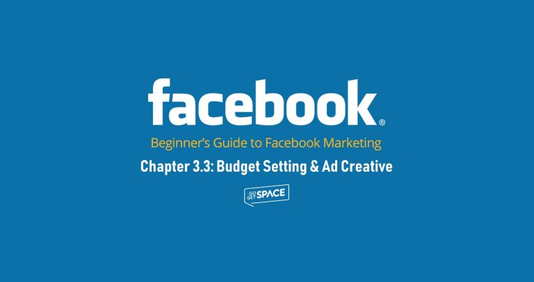 Budget setting and ad creative