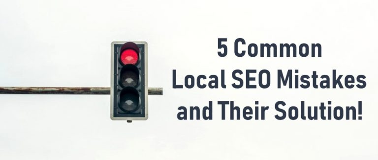 Local SEO Mistakes and their solution