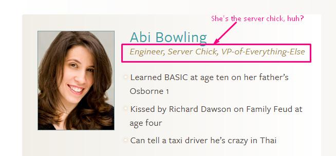Abi server chick