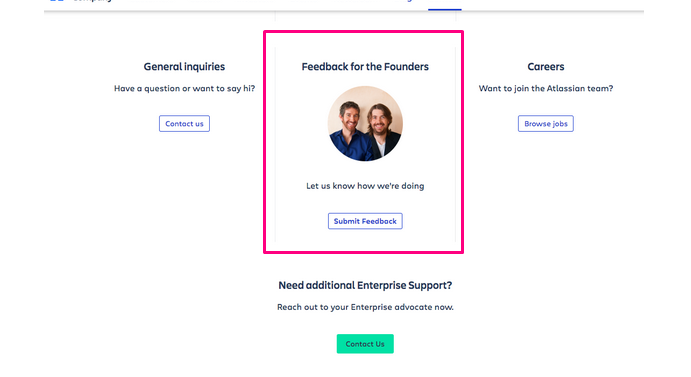 Feedback for founders