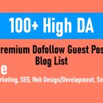 Gogetspace high da premium blog list