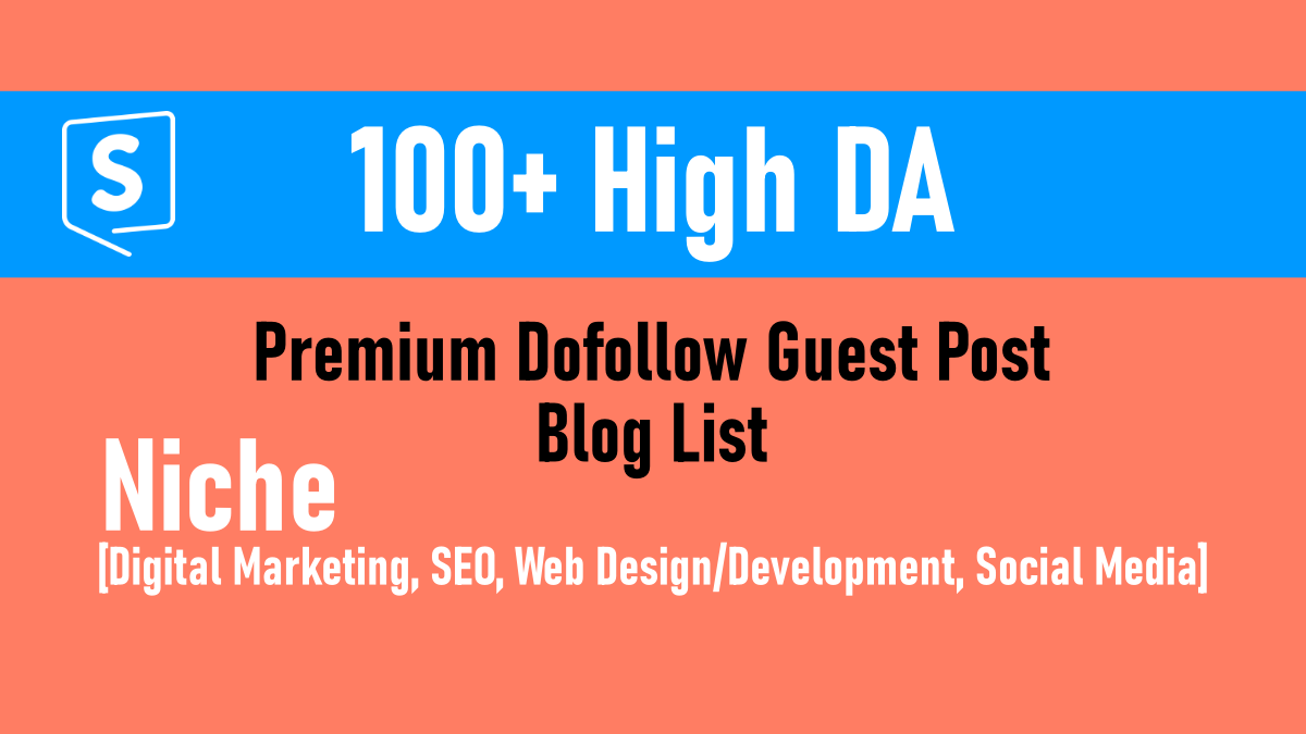 Gogetspace high da premium blog list