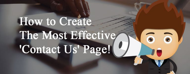 How to create contact us page