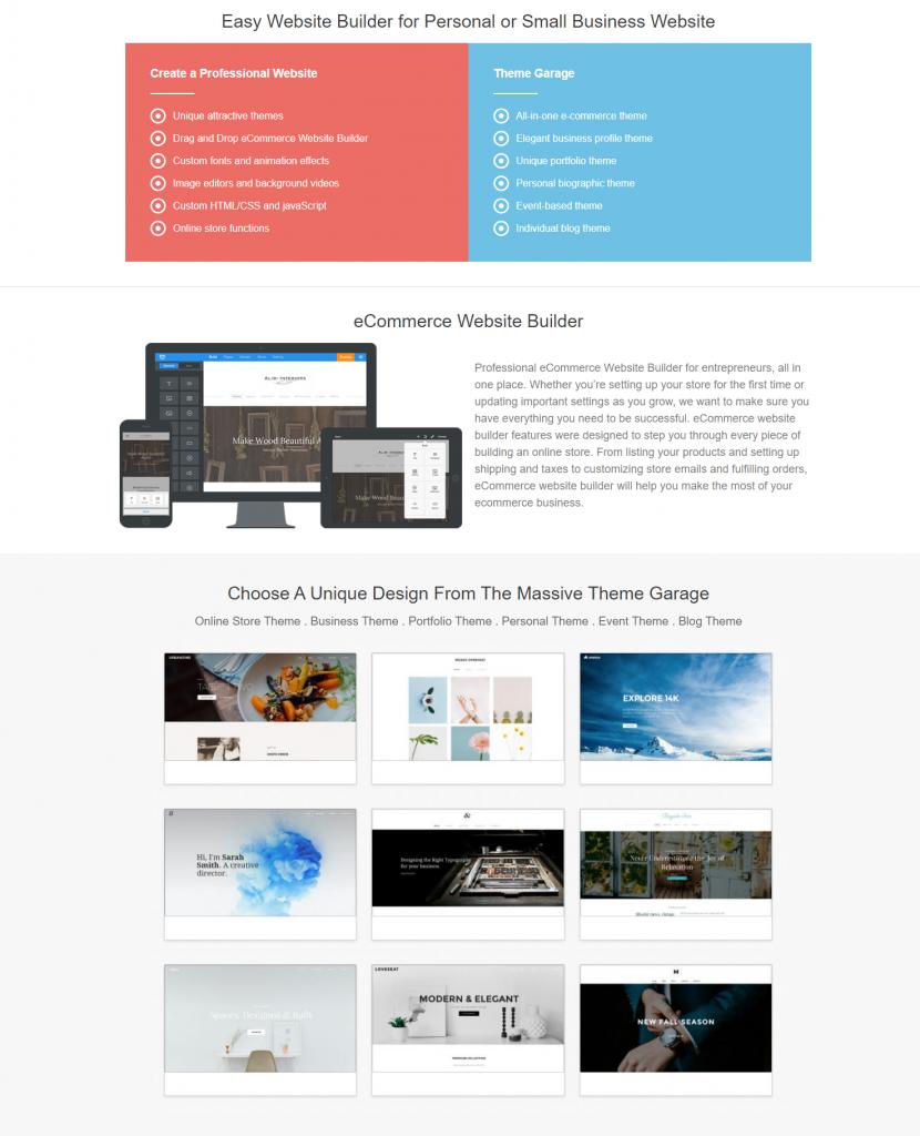 GGS Website Builder