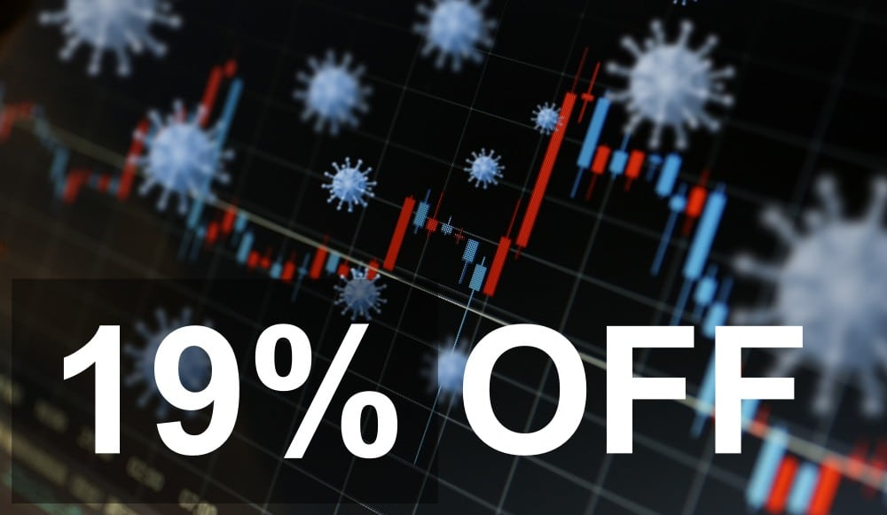 19% off on dedicated servers