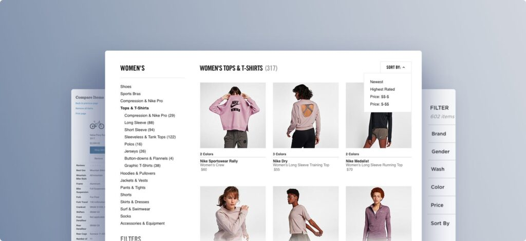 eCommerce product search