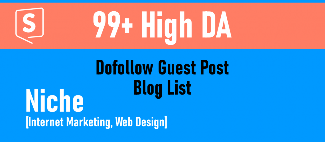 Gogetspace high DA 99 plus blog list