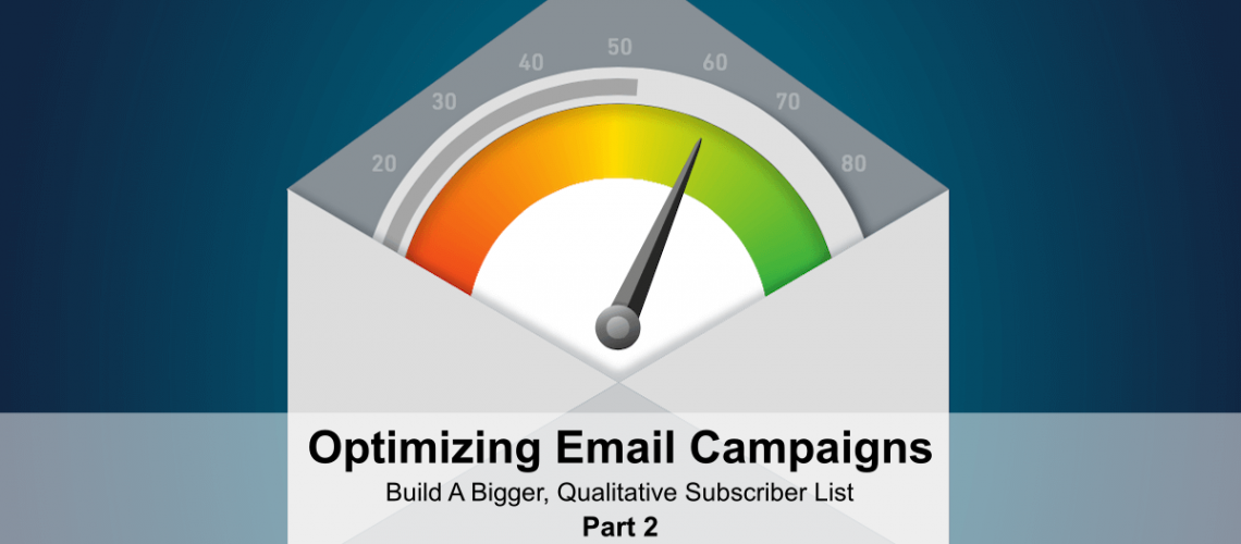 Optimizing emails subscriber list part 2