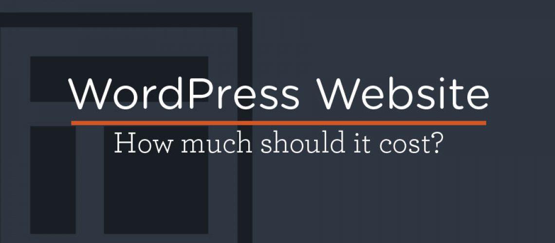 WordPress Websites Cost