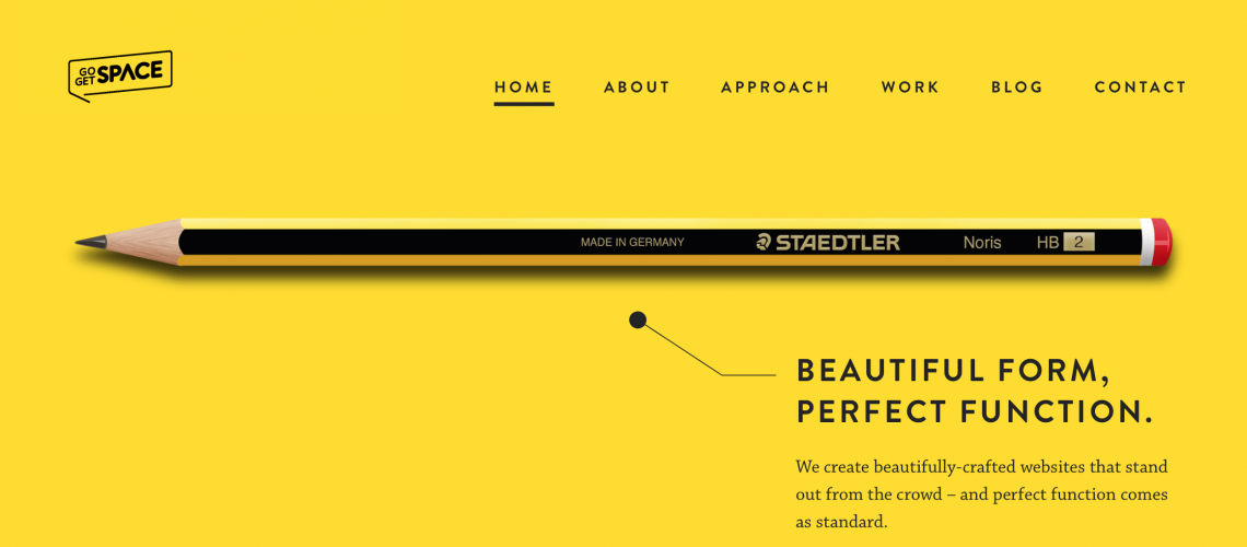 Minimalism for web design